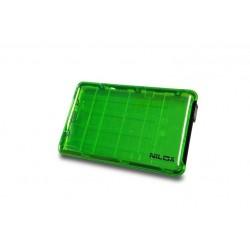 BOX USB 3.0 2.5P VERDE TRASPARENTE (DH0002GT)