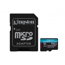 512GB MICROSDXC CANVAS GO PLUS (SDCG3/512GB)