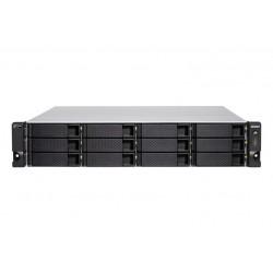 12-BAY QTS HERO NAS 3700X 8-CORE (TS-H1277XU-RP-3700X-128G)