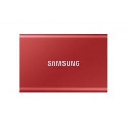 SSD PORTATILE T7 DA 500 GB ROSSO (MU-PC500R/WW)
