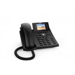 TELEFONO SNOM D335 W/O PS BLACK (4390)