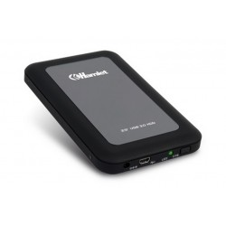"BOX PER HDD 2,5"" USB 3.0 HAMLET BLACK (HXD25U3MBK)"