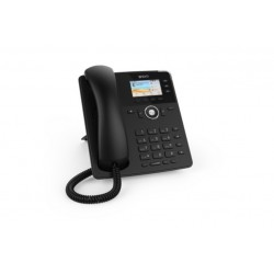 TELEFONO SNOM D717 W/O PS BLACK (4397)