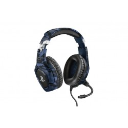 GXT 488 FORZE-G PS4 HEADSET BLUE (23532)