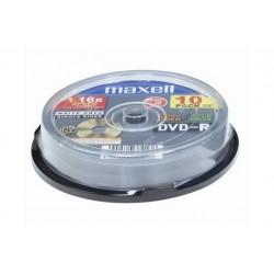 DVD-R 16X 4.7GB CAMPANA 10 PZ. (275593)