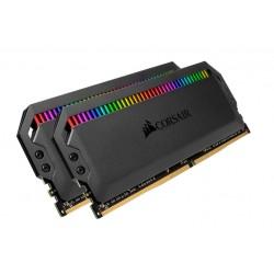 DOM. PLAT. RGB 2X8GB DDR4 3200 BK (CMT16GX4M2E3200C16)