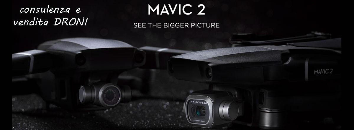 Nuovo drone Mavic 2 della DJI